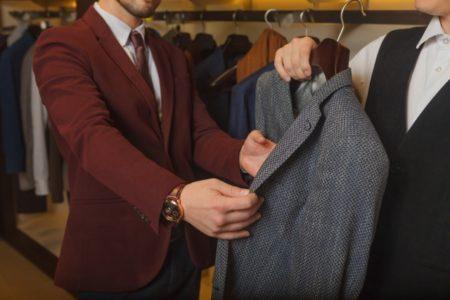 スーツを選んでみよう